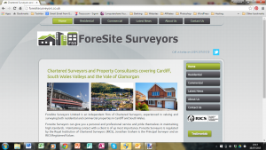 Foresite Surveyors Screenshot