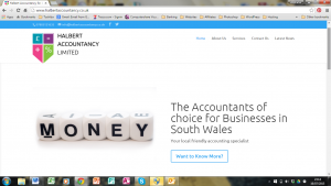 Halbert Accountancy Screenshot